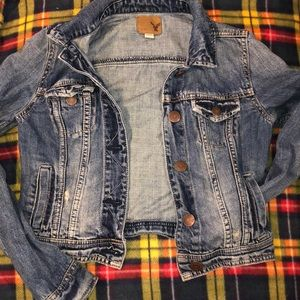 American eagle outfitters jean jacket